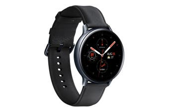 Samsung Galaxy Watch Active 2 44mm LTE SM-R825 Stainless Steel - Black [Au Stock]