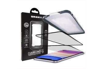 Urban Diamond Tempered Glass Screen Protector For iPhone 11 [Au Stock]