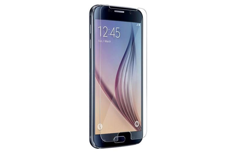 Cleanskin Tempered Glass Screen Guard for Samsung Galaxy S6 [Au Stock]