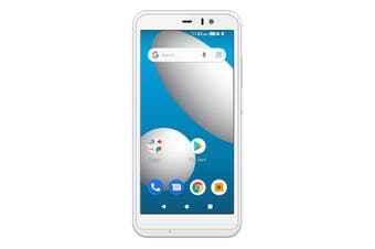 Aspera Jazz 2 (Dual Sim 4G/4G, 16GB) - White/Silver [Au Stock]