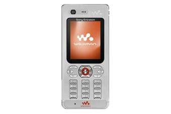 [Brand New Sealed in box, Vintage Stock, 2G only] Sony Ericsson W880i - Steel Silver
