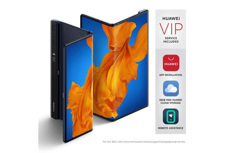 """Huawei Mate Xs 5G (8"""" Foldable FullView Display, Available Now) - Interstellar Blue [Au Stock]"""