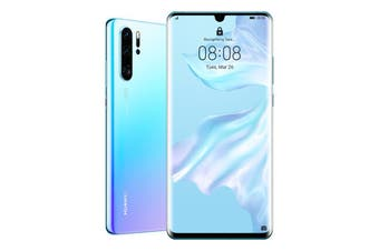"Huawei P30 Pro (Dual SIM 4G/4G, 6.47"", 256GB/8GB) - Breathing Crystal [Au Stock]"
