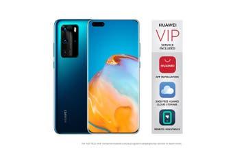 "Huawei P40 Pro 5G (Dual SIM, 6.58"", 50MP) - Deep Sea Blue [Au Stock]"
