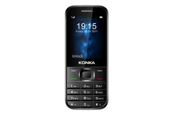 Konka KU9 (3G, keypad) - Black [Au Stock]