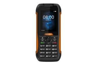 Konka RP1 (3G, IP68, Keypad) - Black Orange [Au Stock]