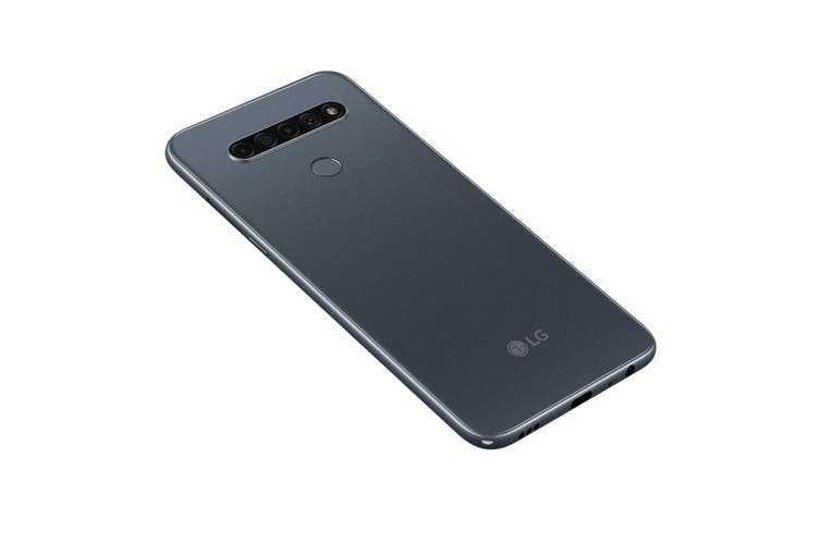LG K61 (Dual SIM 4G, 48MP Quad Camera, 128GB/4GB) - Titan Grey [Au Stock]
