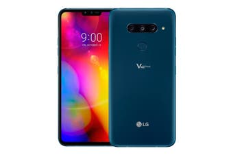 "LG V40 ThinQ (Dual Sim 4G/4G, 6.4"", 128GB/6GB) - Moroccan Blue [Au Stock]"