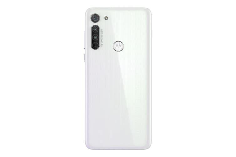Motorola Moto G8 (Dual SIM 4G, 4000mAh 64GB/4GB) - Pearl White [Au Stock]