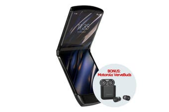 "Motorola Razr (6.2"" Foldable, Bonus VerveBuds via Redemption) - Noir Black [Au Stock]"