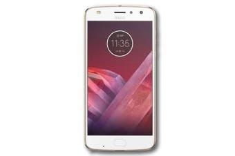 "Motorola Moto Z2 Play (5.5"",  Dual Sim 4G/3G, 64GB/4GB) - Fine Gold [Au Stock]"