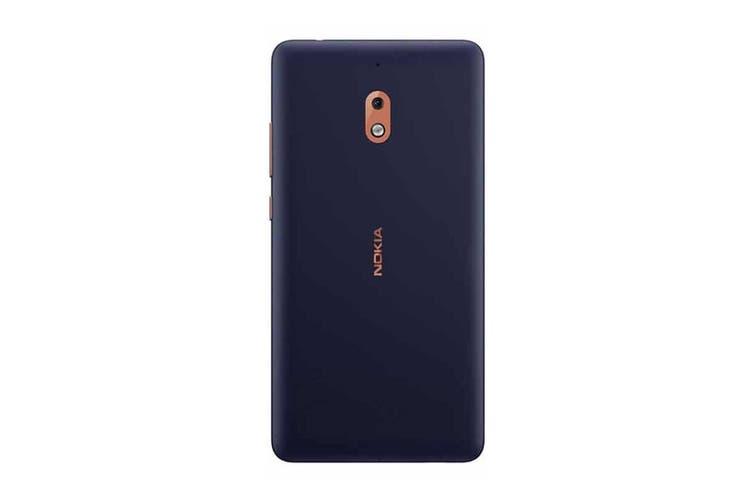 """Nokia 2.1 (4G/LTE, 5.5"""", 4000mAh) - Blue/Copper [Au Stock]"""