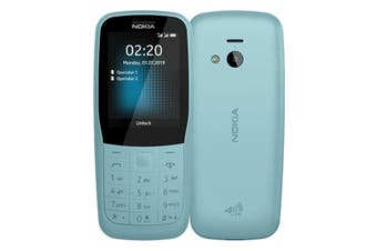 Nokia 220 (4G Only, Keypad) - Blue
