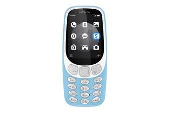 Nokia 3310 (2017, 3G Quadband, Keypad, Opt) - Azure Blue [Au Stock]