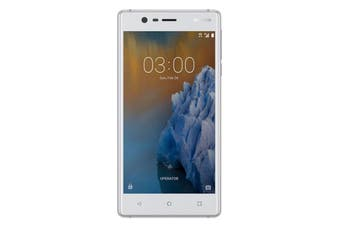 "[Good Condition - Pre Owned] Nokia 3 (4G/LTE, 5.0"", 16GB) - Silver White [Au Stock]"