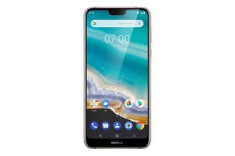 """Nokia 7.1 (5.84"""", 32GB/3GB, Android One) - Steel [Au Stock]"""