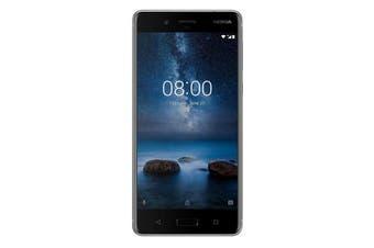 "Nokia 8 (5.3"", Dual 13MP, 64GB/4GB) - Steel [Au Stock]"