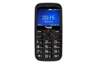 Opel Mobile BigButton X (4G/LTE, Keypad) - Black