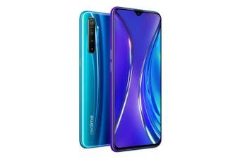 realme XT (Dual SIM 4G, 128GB/8GB) - Pearl Blue [Au Stock]