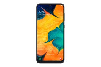 "Samsung Galaxy A30 (6.4"", 13MP, 32GB/3GB, Tel) - Black"