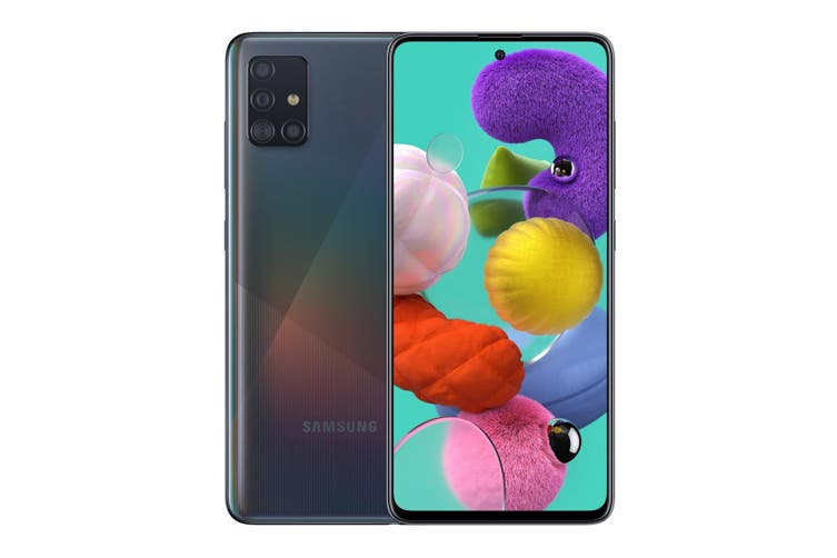"""Samsung Galaxy A51 (6.5"""", 48MP, 128GB/6GB) Black"""