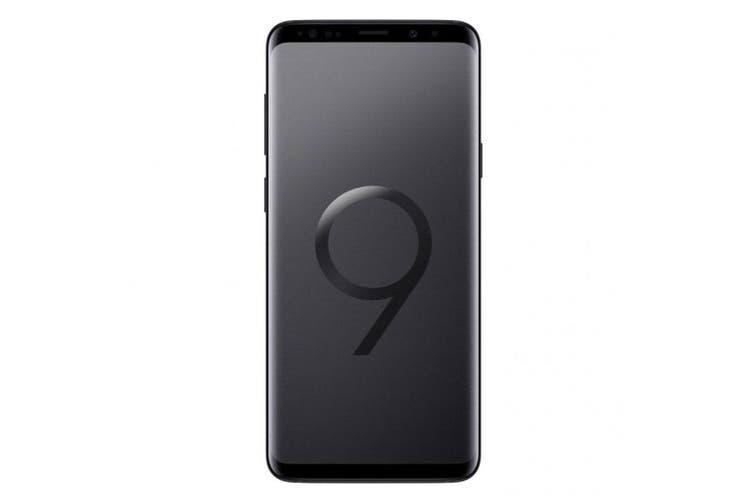 Samsung Galaxy S9+ Plus G965F (256GB/6GB, Tel) - Midnight Black [Au Stock]