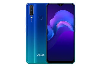 vivo Y12 (Dual Sim 4G/4G, 64GB/3GB) - Aqua Blue