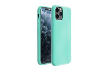 ZUSLAB iPhone 11 Pro Case Nano Silicone Shockproof Gel Rubber Bumper Protective Cover for Apple - Mint Green