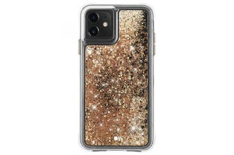 Case-Mate Waterfall Case for iPhone 11 (Gold)