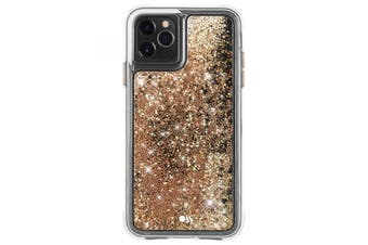 Case-Mate Waterfall Case for iPhone 11 Pro Max (Gold)
