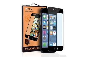 EFM iPhone 8 Plus / 7 Plus / 6s Plus / 6 Plus TT Sapphire Glass Screen Protector Armour for Apple - Black
