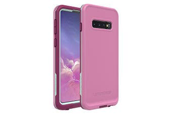 Lifeproof Galaxy S10 FRE Case Waterproof Dirtproof Snowproof Dropproof Cover for Samsung - Pink & Mint Frost Bite