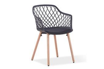 ATALIA Arm Chair - Black