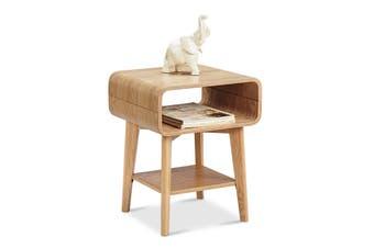 KAIA Bedside Side Table - Ash Veneer