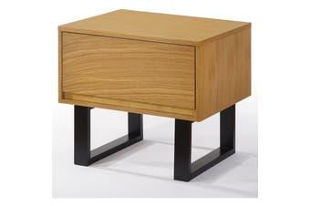 Karel Bedside Table - Oak