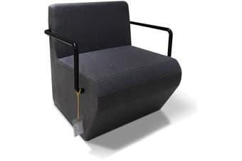 Eric Lounge  Office Chair - Dark Grey