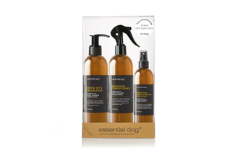 Sensitive Dog Grooming Gift Pack, Chamomile, Sweet Orange & Rosewood