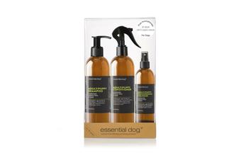 Natural Dog Grooming Gift Pack Lavender, Lemon & Sage (ADULTS & PUPPIES)
