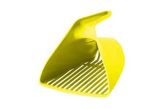 Moderna Scoop & Sift Large Cat Litter Scoop, Grey or Lemon - Lemon Yellow