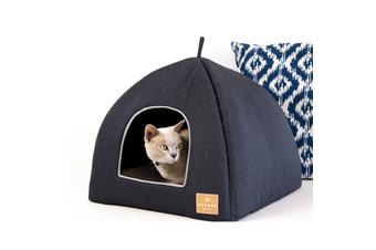Cat Igloo, Classic Pet Bed, Charcoal