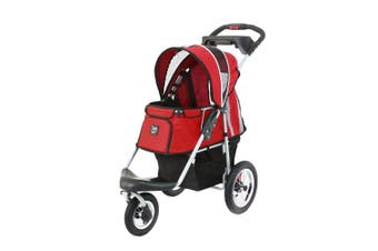 Ibiyaya Turbo Pet Carrier Pram Jogger, Red