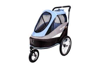 Ibiyaya Happy Bicycle Pet Stroller Jogger & Dog Carrier for Bikes, Blue