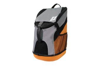 Ibiyaya Ultralight Carrier Bag Pet Backpack, Light Grey