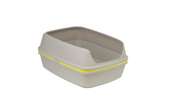 Scoopfree Cat Litter Box, Moderna Lift-to-Sift Grey Jumbo