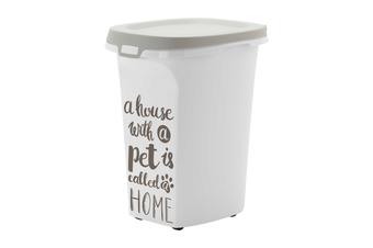 Moderna 'Pet Wisdom' Container, Pet Food Storage Bin on Wheels, 2 Sizes - Large 20L