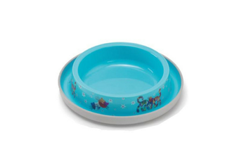 Moderna Friends Forever Ant Proof Cat Bowl - 210ml / Fun Blue