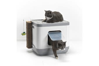 Moderna Cat Concepts 3-in-1 Cat Litter Box, Bed and Scratching Post