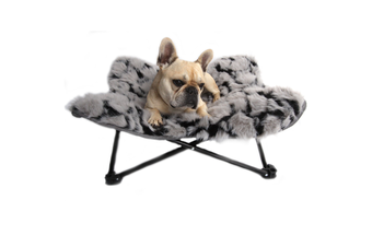 T&S Nordic Butterfly Elevated Dog Bed - Large