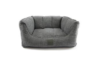 T&S Sorrento Ash Grey Luxury Dog Bed