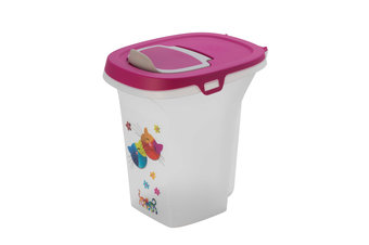 Moderna 'Friends Forever' Container Cat Food Storage, 6L Capacity, Pink